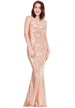Bandeau-Sequin-Maxi-Dress