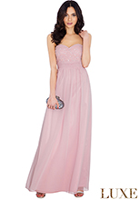 Embellished-Bandeau-Chiffon-Maxi-Dress