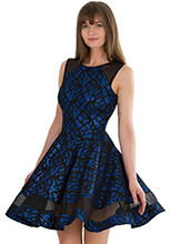 Wholesale-Panelled-Cocktail-Dress