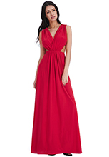 Wholesale-Cut-Out-Grecian-Maxi-Dress