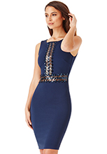 Wholesale-Sequin-Zig-Zag-Midi-Dress