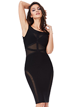Wholesale-Bardot-Cut-Out-Bodycon-Dress