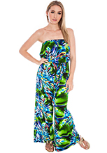 Strapless-Abstract-print-Jumpsuit