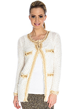 Boucle-Long-Sleeve-Cardigan