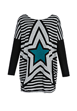 Wholesale-Star-Print-Jumper