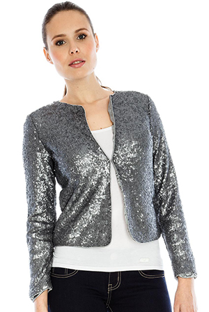 Wholesale Micro Sequin Jacket