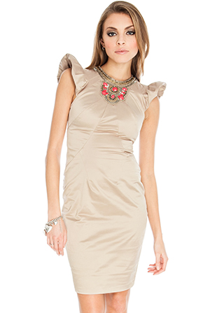 Wholesale Marrakech Embellished Bodycon Dress