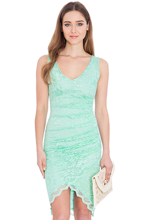 Sleeveless-Lace-Wrap-Front-Dress