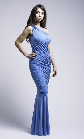 Wholesale Grecian Maxi Dress in the style of Katie Holmes