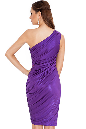 Wholesale One Shoulder Party Dress