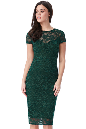 Wholesale-Lace-Midi-Dress-with-Keyhole-Back-DR1015C