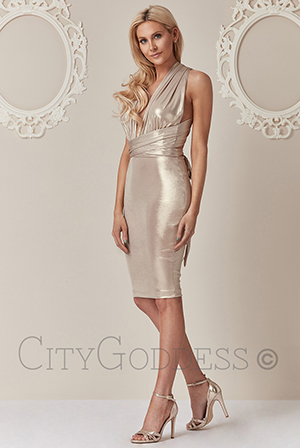 Wholesale-Stephanie-Pratt-Multi-Way-Metallic-Midi-Dress