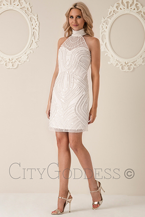 Wholesale-Stephanie-Pratt-Halter-Neck-Embellished-Mini-Dress