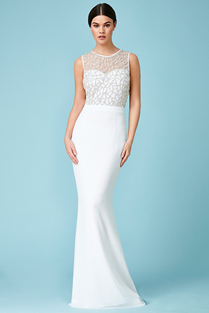 Wholesale-Embellished-Cut-Out-Back-Chiffon-Maxi-Wedding-Dress