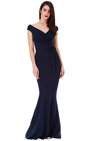 Wholesale-Pleated-Maxi-Dress-with-Tie-Detail