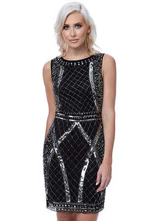 Wholesale-Stephanie-Pratt-Sequin-Embellished-Mini-Dress