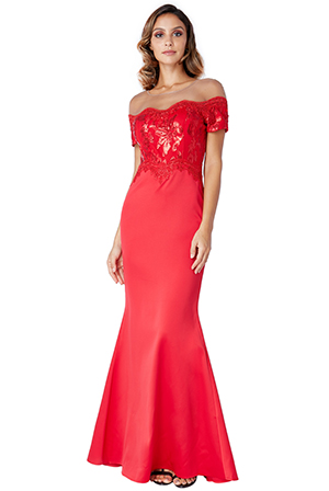 Wholesale-Off-The-Shoulder-Sequin-Embroidered-Maxi-Dress_2