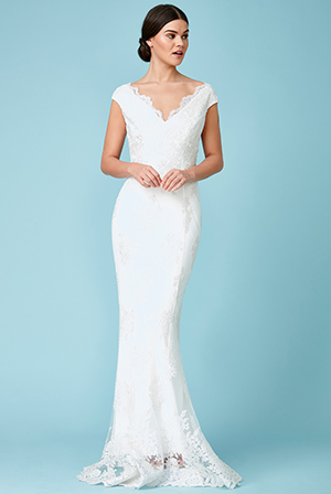 Wholesale-Off-The-Shoulder-Embroidered-Lace-Wedding-Maxi-Dress