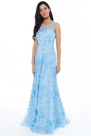 Wholesale-Mesh-Embroidered-Maxi-Dress