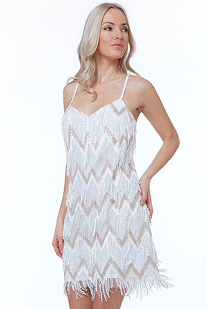Wholesale-Sequin-Fringe-Mini-Dress-DR1688