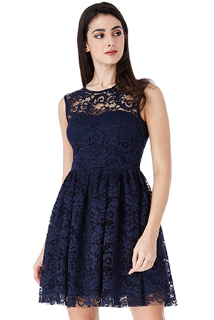 Wholesale-Lace-Skater-Dress