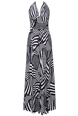 Wholesale-Printed-Multiway-Maxi-Dress