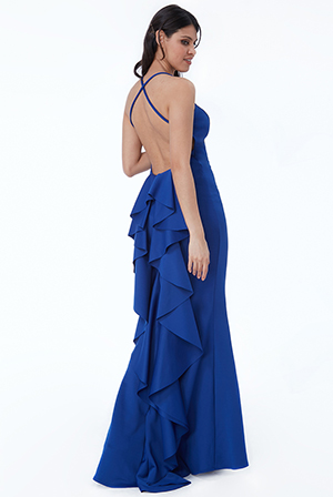 Wholesale-Fishtail-Maxi-Dress-with-Open-Back-and-Waterfall-Frills_2