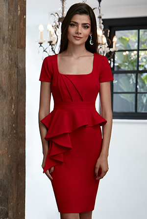 Wholesale-Peplum-Midi-Dress_2