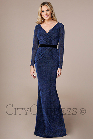Wholesale-Lurex-Cross-Over-Maxi-Dress