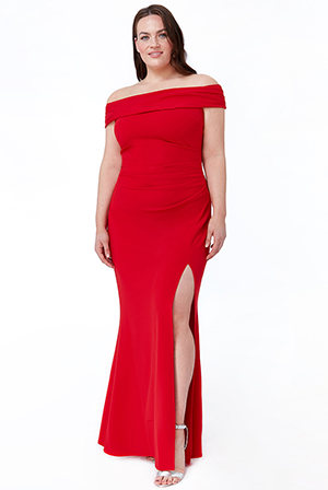 Wholesale-Plus-Size-Off-The-Shoulder-Maxi-with-Split-DR1878P