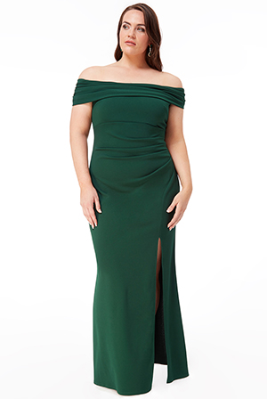 Wholesale-Plus-Size-Off-The-Shoulder-Maxi-with-Split-DR1878QZPLUS