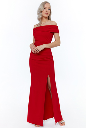 Wholesale-Off-The-Shoulder-Maxi-with-Split