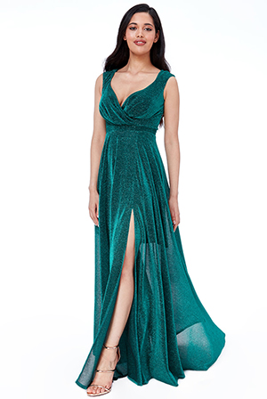 Wholesale-Cross-Over-Sleeveless-Maxi-Dress-with-Split-DR1886BB