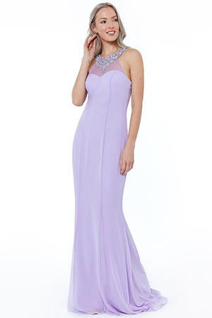 Wholesale-High-Neck-Embellished-Maxi-Dress-DR1951