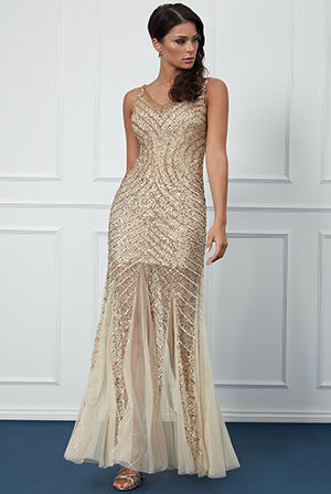 Wholesale-Hand-Embellished-Sequin-Star-Shine-Evening-Maxi-Dress-DR1973