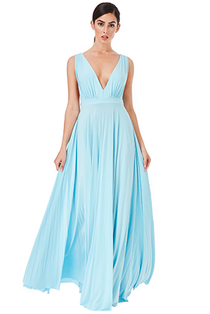 Wholesale-Pleated-Oscar-dress-in-the-style-of-Lupita-Nyongo