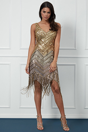 Wholesale-Ombre-Sequin-and-Fringe-Midi-Dress-DR2054