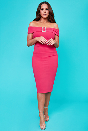 Vicky-Pattison-Buckle-Bardot-Midi-Dress-DR2105VP