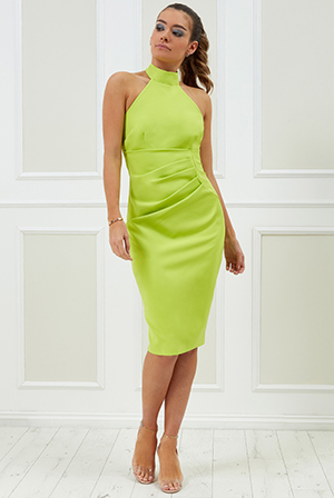 Wholesale-Vicky-Pattison-Halter-Neck-Midi-Dress-DR2209VP