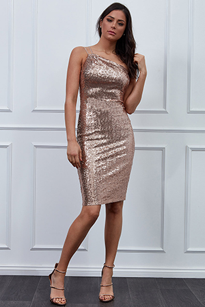 Wholesale-Vicky-Pattison-One-Shoulder-Sequin-Midi-Dress-DR2215