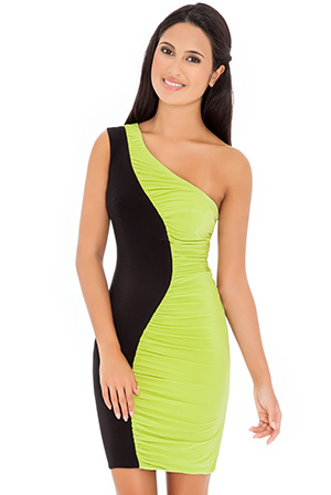 Wholesale Asymmetric Bodycon Dress