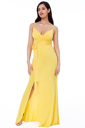 Wholesale-Wrap-Front-Maxi-Dress-DR2250