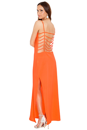 Wholesale Cage Back Beach Maxi Dress
