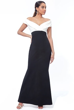 Wholesale-Front-Wrap-Off-The-Shoulder-Maxi-Dress-DR2290