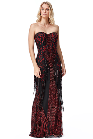 Wholesale-Sweet-Heart-Sequin-Fringe-Maxi-Dress-DR2296