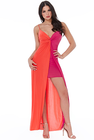 Wholesale-Colour-Block-Maxi-Dress-DR2326