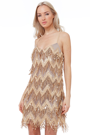 Wholesale-Sequin-Fringe-Midi-Dress-DR2378