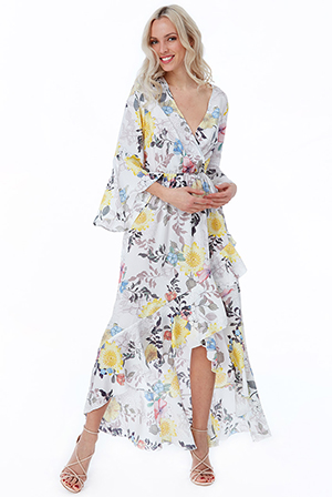 Wholesale-Floral-Print-Wrap-Maxi-Dress-DR2431