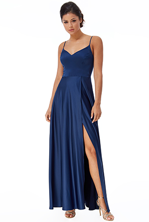 Wholesale-Satin-Flared-Wrap-Maxi-Dress-DR2443QZ