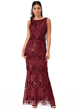 Wholesale-Sequin-and-Lace-Maxi-Dress-DR2515